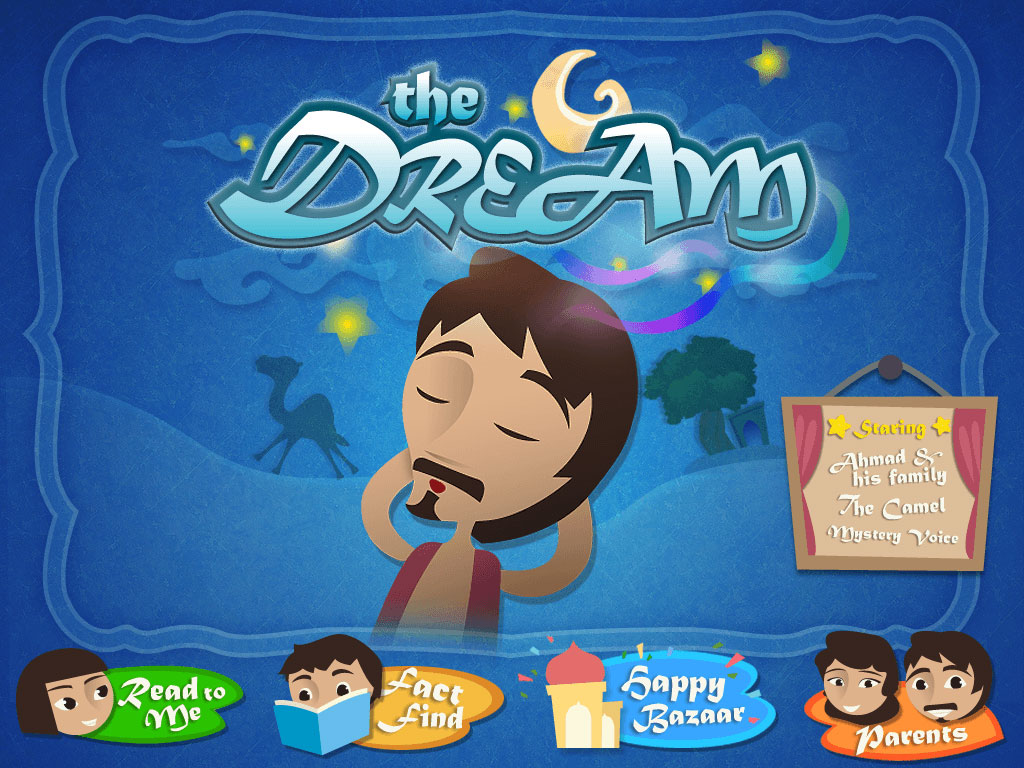 The Dream, Interactive Storybook App